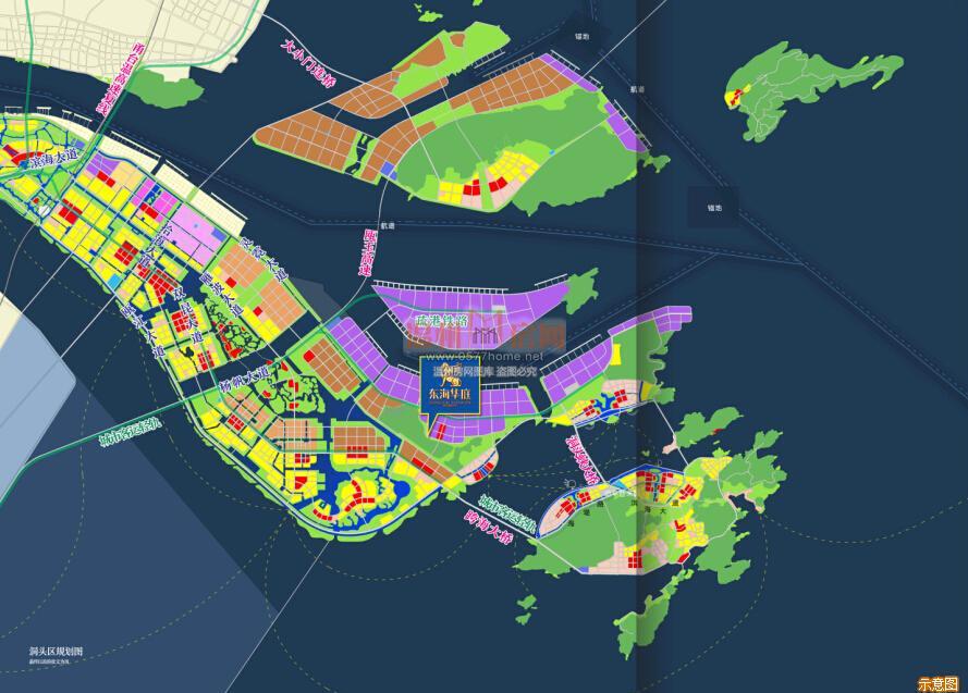 东海县城街道地图