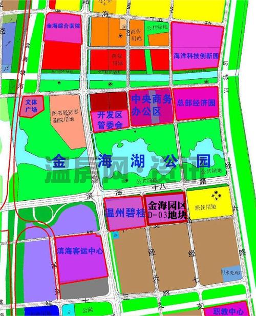 金海园区随着前两年温州碧桂园项目的热卖渐渐进入购房者的视线,该